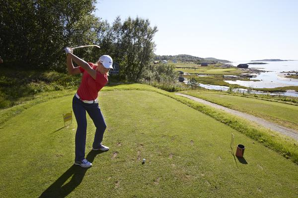 Suzann Pettersen, Tutta, Bod¿ golfpark, Salten golfklubb, golf,