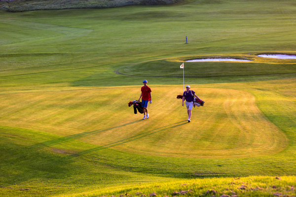 Golf, midnattsol, Bodø golfpark, Salten Golfklubb, Myklebostad