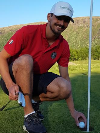 Golf trener Mikael Steensrud